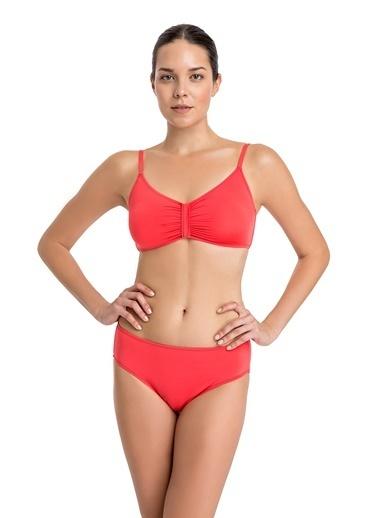 Dagi Luplu Bikini Üst Kırmızı